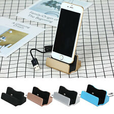 Desktop Charger Docking Stand Station Sync Dock Charge Cradle for iPhone 5/6/7