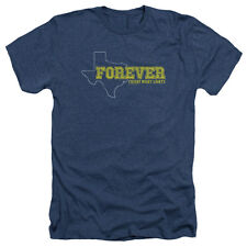 Friday Night Lights Texas Forever Mens Heather Shirt NAVY