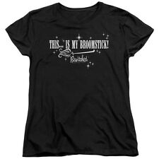 Bewitched Broomstick Womens Short Sleeve Shirt