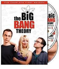 Big Bang Theory Complete First Season DVD 3 Disc Set Brand New Factory Sealed