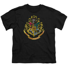 Harry Potter Hogwarts Crest Big Boys Youth Shirt