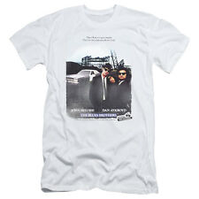 Blues Brothers Distressed Poster Mens Slim Fit Shirt