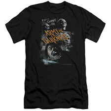 Army Of Darkness Covered Mens Premium Slim Fit Shirt