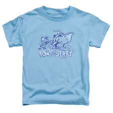 Tom And Jerry Sketchy Little Boys Toddler Shirt