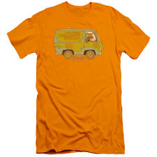 Scooby Doo The Mystery Machine Mens Premium Slim Fit Shirt