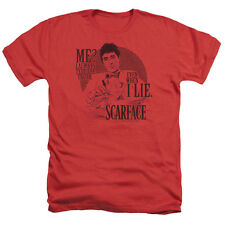 Scarface Truth Mens Heather Shirt Red