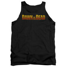 Dawn Of The Dead Dawn Logo Mens Tank Top Shirt