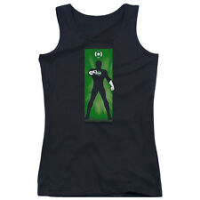 DC Comics Green Lantern Block Juniors Tank Top Shirt BLACK