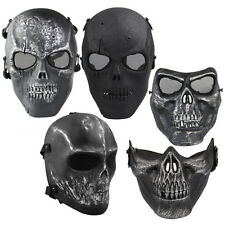 Tactical Military Army Mask Paintball Full Face Airsoft Skeleton Skull Mask