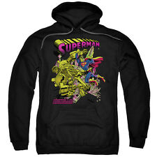 Superman Versus Metallo Blacklight Mens Pullover Hoodie