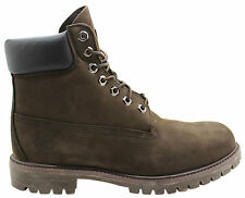 Timberland 6 Inch Premium Original Lace Up Mens Boots Brown Leather