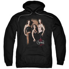 Charmed Three Hot Witches Mens Pullover Hoodie Black