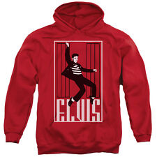 Elvis Presley One Jailhouse Mens Pullover Hoodie Red