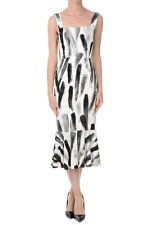 DOLCE&GABBANA New woman Printed Viscose Dress Made in Italy NWT