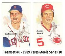 1989 Perez-Steele Hall of Fame (HOF) Postcards Series 10 ** Pick Your Team **
