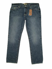 Guess Lincoln Slim Fit Straight Leg Mens Blue Denim Jeans Size 34, 38 New $89