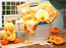 Bath Time Baby New Baby Basket-Pink (Lg)