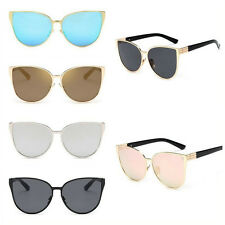 Oversized Designer Retro Women Cat Eye Sunglasses Vintage Shades Glasses Eyewear