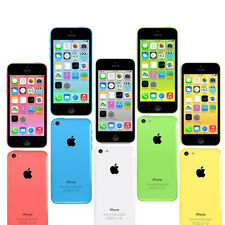 APPLE IPHONE 5C 8GB 16GB 32GB SMARTPHONE FACTORY UNLOCKED SIM FREE NO CONTRACT
