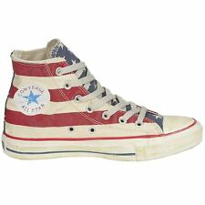 Converse Chuck Taylor All Star Rummage Hi White Navy Women Sneakers Trainers