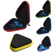 Gift For Fidget Hand Spinner Triangle Finger Toy Focus Storage Bag Box Case
