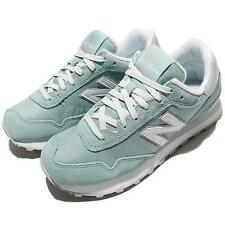 New Balance WL515IFA B Turquoise Blue White Suede Women Running Shoes WL515IFAB
