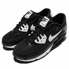 Wmns Nike Air Max 90 Essential Black White NSW Womens Running Shoes 616730-023