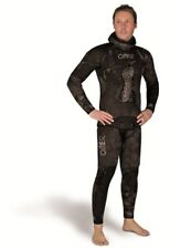 OMER 5mm Black Moon Mens Spearfishing Camo Suit 2 Piece Scuba Diving Wetsuit
