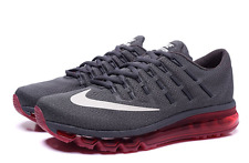 NIB MENS NIKE AIR MAX 2016 Running Shoe 806771 016 Grey/Red