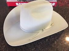 RESISTOL Self Conforming Cow Boy Hat 20x Beaver Size 6 7/8 Frost Color With Box