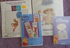 YOUR CHOICE: LEISURE ARTS/SYMBOL EXCELLENCE Cross Stitch Kit POOH or DREAMSICLES
