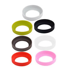Cafe Silicone Round Reusable Heat Insulated Coffee Cup Protector Sleeve Cover