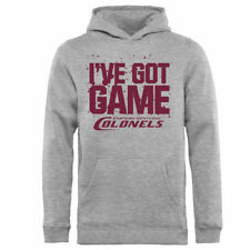 Eastern Kentucky Colonels Youth Ash Got Game Pullover Hoodie - College