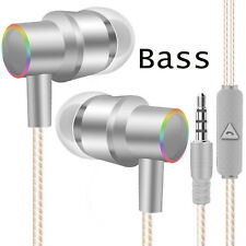 Perfume Metal Music Stereo Earphones Super Bass For Phones Computers MP3 MP4 Lot