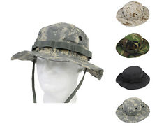Airsoft Tactical Army Military Fishing Boonie Hat Cap Hunting Jungle Camo Cap