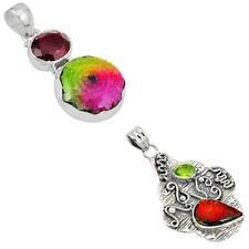 Jewelexi multicolor 925 sterling silver pendant handmade jewelry 4286B
