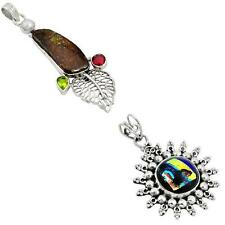 Jewelexi multicolor 925 sterling silver pendant handmade jewelry 4327B