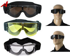 Tactical Safety Goggles Glasses Airsoft Paintball Shooting Protection Eyewear
