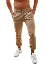 Paperbacks Mason Jeans Jogger Chino Trousers WORKER Jeans MENS BROWN