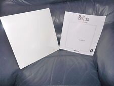 THE BEATLES DOUBLE WHITE ALBUM APPLE LABEL LOVELY MINT CONDITION POSTERS SEALED