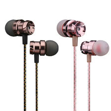 3.5mm InEar Earphones Bass Stereo Headphones Headset Earbuds With Volume Control