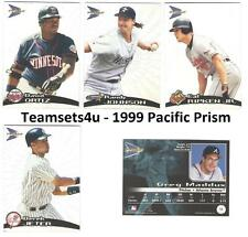 1999 Pacific Prism Baseball Set ** Pick Your Team **