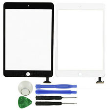 Front Panel Touch Glass Lens Digitizer Screen Replacement Part For iPad Mini 1 2