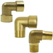 Brass Pipe Thread Coupler Connector Equal Elbow F/M End 1/8,1/2,1.2,1.5, 2''