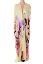 ROBERTO CAVALLI New Dress Woman Silk Floral Printed Made in Italy