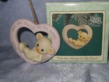 Precious Moments - 530972 -MIB- Ornament - YOU ARE ALWAYS IN MY HEART - 1994