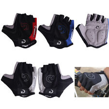 Unisex Cycling Gloves Bicycle Motorcycle Sport Half Finger Gloves S- XL Size #M