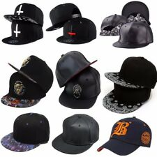 AU Mens Womens Hip-Hop Baseball Adjustable Cap Snapback Peaked Sport Dance Hat