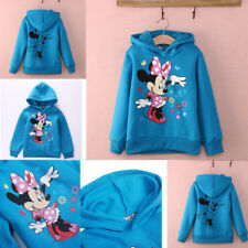 Boys Girls Kids Mickey Mouse Minnie Mouse Sweatershirt Hoodie Outerwear  Tops