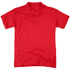 Kung Fu Panda Po Logo (Back Print) Mens Polo Shirt Red